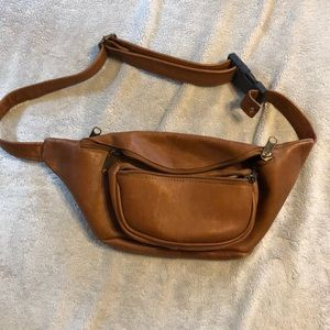 Other - Men's all leather fanny pack